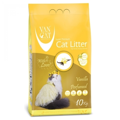 تصویر خاک گربه Van Cat با رایحه وانیل - 10 کیلوگرم