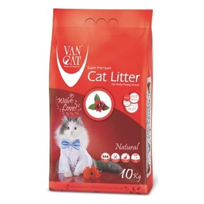 تصویر خاک گربه VanCat مدل طبیعی - 10کیلوگرم