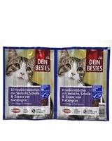 تصویر تشویقی مدادی مخصوص گربه Dein Bestes با طعم ماهی - بسته10 عددی