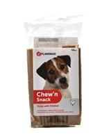 تصویر اسنک تشویقی تخت مخصوص سگ Flamingo مدل Chew'n Snack با طعم مرغ