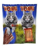 تصویر تشویقی مدادی نرم Tomi مخصوص گربه با طعم ماهی سالمون و ماهی قزل آلا - بسته 6 عددی
