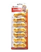 تصویر تشویقی استخوان دو سر گره Flamingo مخصوص سگ مدل Rawhide تهیه شده از گوشت مرغ - بسته 7 عددی