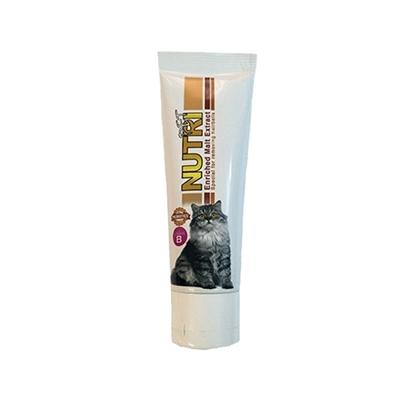 تصویر خمیر مالت مخصوص گربه NutriPet حاوی پروبیوتیک 80 سی سی