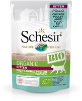 تصویر پوچ مخصوص بچه گربه schesir مدل Bio تهیه شده از گوشت مرغ - 85 گرم