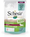 تصویر پوچ مخصوص توله سگ schesir مدل Bio تهیه شده از گوشت مرغ - 85گرم