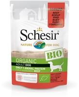 تصویر پوچ مخصوص سگ schesir مدل Bio تهیه شده از گوشت گاو - 85گرم