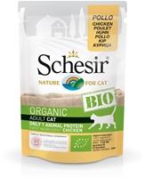 تصویر پوچ مخصوص گربه schesir مدل Bio تهیه شده از گوشت مرغ - 85گرم
