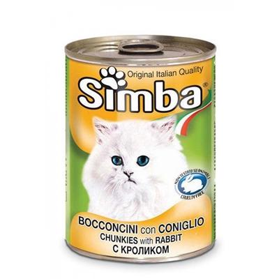 تصویر کنسرو Simba مخصوص گربه تهیه شده از گوشت خرگوش - ۴۱۵ گرم