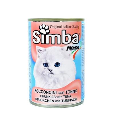 تصویر کنسرو Simba مخصوص گربه تهیه شده از ماهی تن - ۴۱۵ گرم