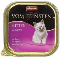 تصویر ووم Feinsten مخصوص بچه گربه Animonda با طعم گوشت بره-100 گرم