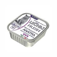 تصویر پوچ مخصوص گربه Lechat مدل Fresh با طعم گوشت اردک - 100گرم