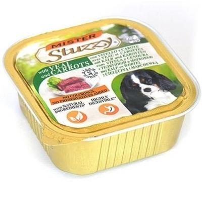 تصویر خورا کاسه ای stuzzy با طعم گوشت گاو و هویج مخصوص سگ - 150 گرم