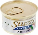 تصویر کنسرو مخصوص گربه Stuzzy مدل Gold تهیه شده از گوشت مرغ