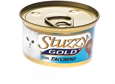تصویر کنسرو مخصوص گربه Stuzzy مدل Gold تهیه شده از گوشت بوقلمون