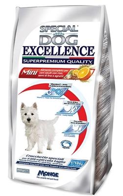 تصویر غذای خشک مخصوص سگ های بالغ نژاد کوچک Special Dog Excellence ترکیب شده با برنج و سبزیجات - 800 گرم