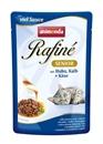 تصویر پوچ Rafine مخصوص گربه تهیه شده از گوشت مرغ،گوساله و پنیر - 100 گرم
