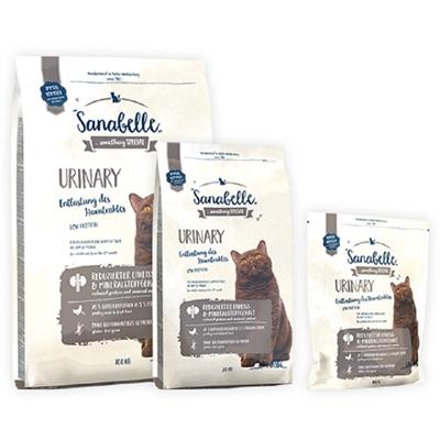 تصویر غذای خشک مخصوص گربه بالغ Sanabelle مدل Urinary مناسب برای گربه هایی با حساسیت مجاری ادراری - 400 گرم