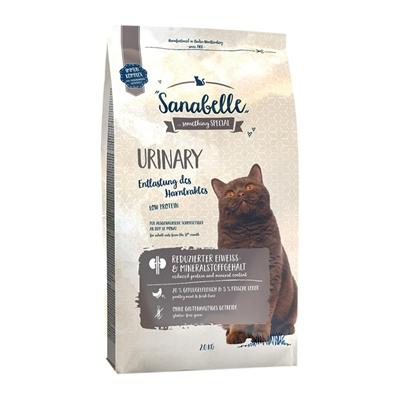 تصویر غذای خشک مخصوص گربه بالغ Sanabelle مدل Urinary مناسب برای گربه هایی با حساسیت مجاری ادراری - 2 کیلوگرم