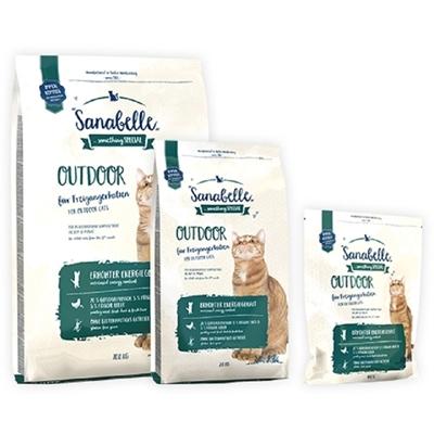 تصویر غذای خشک مخصوص گربه بالغ Sanabelle مدل Outdoor مناسب برای گربه های خارج از خانه - 2 کیلوگرم