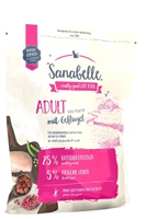 تصویر غذای خشک مخصوص گربه بالغ Sanabelle مدل Adult تهیه شده از گوشت طیور - 2 کیلوگرم