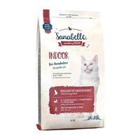تصویر غذای خشک مخصوص گربه بالغ Sanabelle مدل Indoor مناسب برای گربه های داخل خانه - 2 کیلوگرم