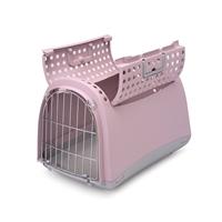 تصویر باکس حمل سگ و گربه Imac مدل  Linus Cabrio - رنگ صورتی