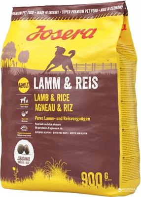تصویر غذای خشک مخصوص سگ بالغ کلیه نژادها Josera حاوی گوشت بره و برنج - 900 گرم
