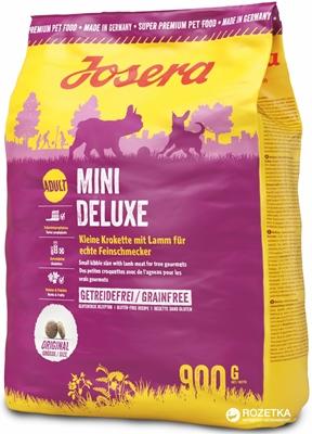تصویر غذای خشک مخصوص سگ بالغ نژاد کوچک Josera تهیه شده از گوشت بره - 900 گرم