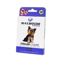 تصویر گردنبند ضد کک و کنه مخصوص سگ MaxBiocide با عصاره مارگوسا
