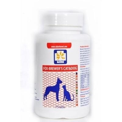 تصویر مخمر آبجو مخصوص سگ و گربه AlphaFox مخصوص جلوگیری از ریزش مو