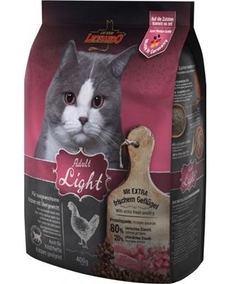 تصویر غذای خشک Leonardo مخصوص گربه بالغ مدل Light با طعم طیور - ۲کیلوگرم