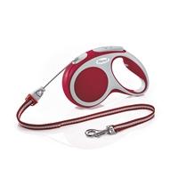 تصویر بند قلاده متری Flexi مدل Vario Small تا 15 کیلوکرم 5 متری رنگ قرمز