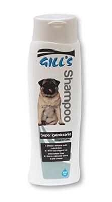 تصویر شامپو مخصوص سگ و گربه Gills مدل Super Igienizzante با خاصیت تمیزکنندگی بالا