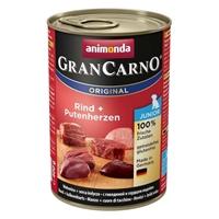 کنسرو مخصوص توله سگ Animoda مدل GranCarno با طعم گوشت گوساله و دل بوقلمون - 400 گرم