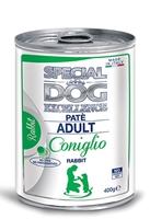تصویر کنسرو Special Dog Excellence مخصوص سگ با تکه های گوشت خرکوش400 گرم