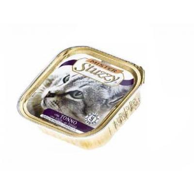 تصویر خوراک کاسه ای stuzzy با طعم ماهی تن مخصوص گربه - 100 گرم