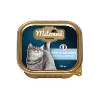 تصویر ووم گربه Mitonne با طعم سالمون