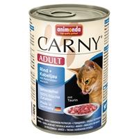 تصویر کنسرو کارنی با طعم گوشت گوساله و ماهی کاد و جعفری 400 گرم
