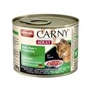 تصویر کنسرو کارنی مخصوص گربه بالغ حاوی گوشت گاو ، بوقلمون و خرگوش - 200 گرم