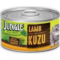 تصویر کنسرو مخصوص گربه Jungle تهیه شده از گوشت بره - 85 گرم