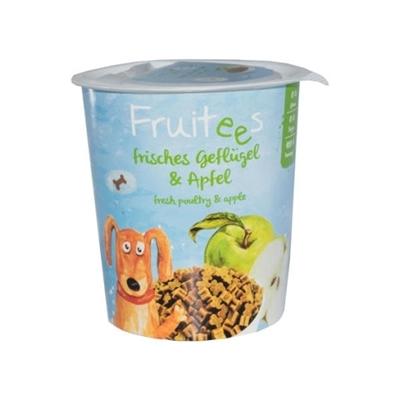 تصویر تشویقی مخصوص سگ Bosch مدل Fruitees با طعم مرغ تازه و سیب - 200 گرم