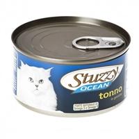 تصویر کنسرو مخصوص گربه Stuzzy مدل Ocean با طعم ماهی تن - 185 گرم