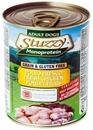 تصویر کنسرو مخصوص سگ های بالغ Stuzzy با طعم مرغ - 800 گرم