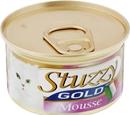 تصویر کنسرو گوشت بوقلمون و بره Stuzzy مدل Gold