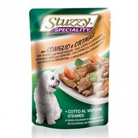 تصویر پوچ stuzzy با طعم گوشت خرگوش و سبزیجات مخصوص سگ - 100 گرم