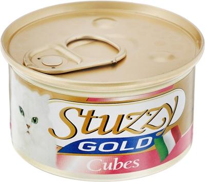 تصویر کنسرو مرغ Stuzzy مدل Gold Clubes