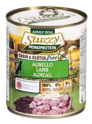 تصویر کنسرو مخصوص سگ های بالغ Stuzzy با طعم گوشت گوسفند - 800 گرم