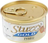 تصویر کنسرو ماهی تن بهمراه برنج  Stuzzy مدل Gold