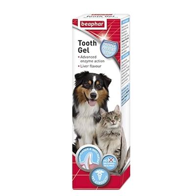 تصویر ژل تمیز کننده دهان و دندان Beaphar مخصوص سگ و گربه