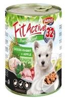 تصویر کنسرو Panzi مخصوص توله ها با طعم گوشت خرگوش و سیب - 415 گرم